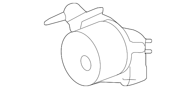 2010 2019 Jaguar Vacuum Pump Aj813786
