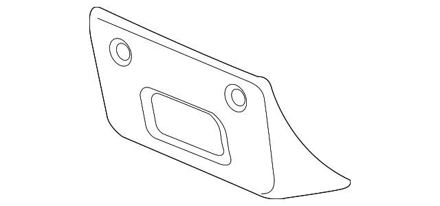 license bracket