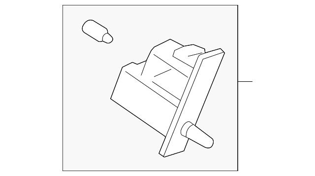 glove box lamp