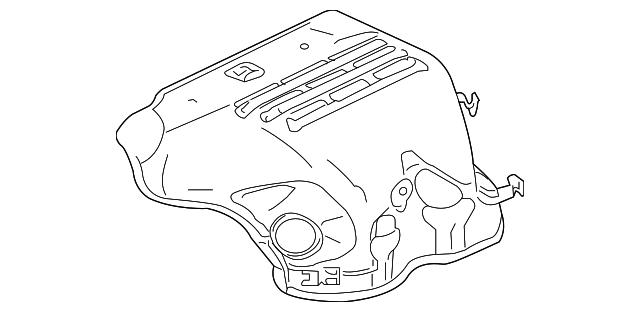 Mitsubishi Manifold Cover 1555a213