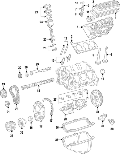 gm replacement engines