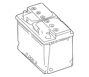 Vehicle Battery - Mercedes-Benz (001-982-82-08)