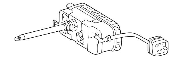 1994 2000 Mercedes Benz Wiper Motor 202 820 37 42