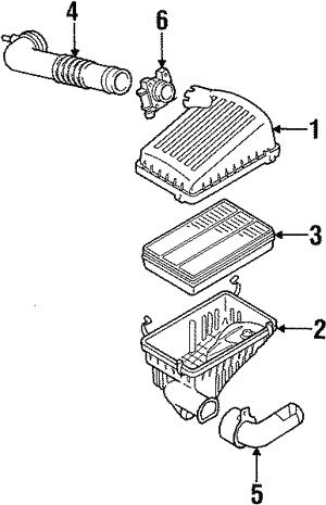 Velocity Concepts Black Short Ram Air Intake Kit Filter 94-02 Isuzu Trooper 94-03 Rodeo 96-00 Hombre 02-03 Axiom 98-00 Isuzu Amigo V6
