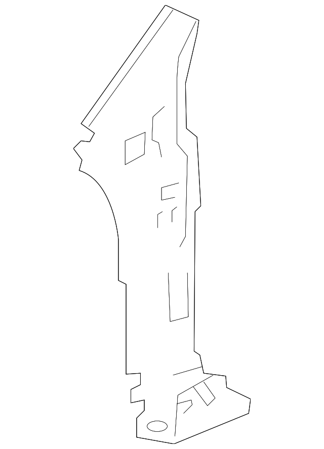 63531-S3Y-300ZZ Genuine Honda Pillar Stiffener