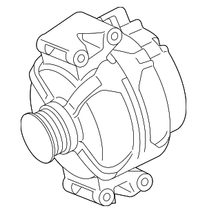 Alternator - Mercedes-Benz (014-154-39-02-87)