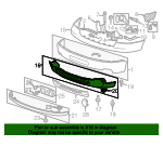Air Deflector - GM (22755087)