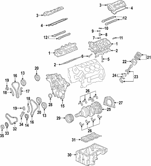 [SCHEMATICS_4ER]  Engine for 2006 Hyundai Sonata | Lia Parts | 2006 Hyundai Sonata Engine Diagram |  | Lia Parts