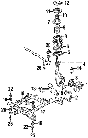 Rear Suspension Gm Rear Suspension