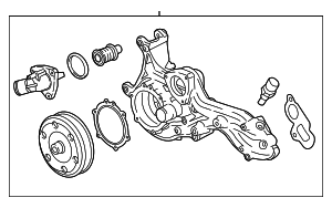 Water Pump Assembly - GM (12685733)