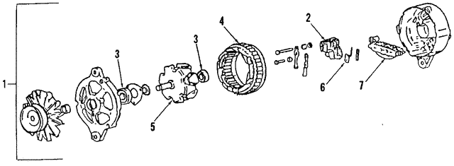 Alternator - Volkswagen (038-903-018-FX)