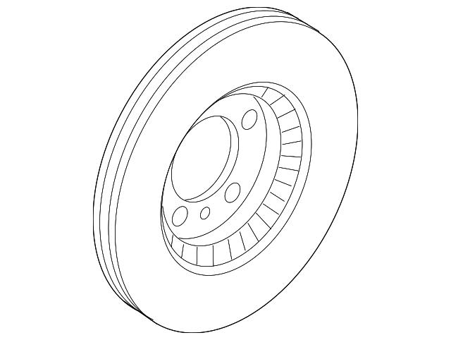 Genuine Ford Rotor 9E5Z-1125-C