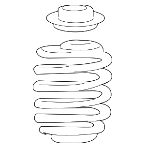 Coil Spring - Smart (451-321-16-04)