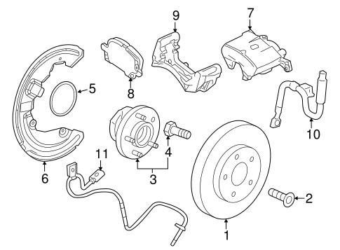 Oem 2015 Cadillac Ats Front Brakes Parts