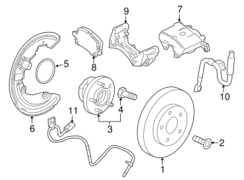 Front Brakes For 2015 Cadillac Ats