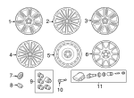 Alloy Wheel - Land-Rover (LR091539)