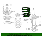 Coil Spring - GM (84186928)
