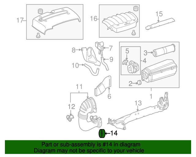 Spacer Ring - Mercedes-Benz (612-094-00-51)   MB OEM Parts