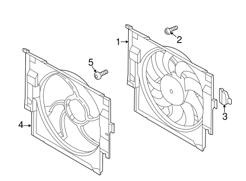 Cooling Fan For 2016 Bmw M3