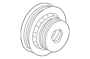 Pulley, Crankshaft - Honda (13810-PAA-A51)
