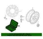 Wheel Lock Kit - Volkswagen (5Q0-698-137)