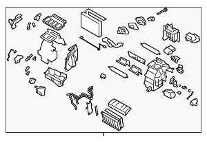 Heater Unit Assembly / VIN Required - Subaru (72110FG080)