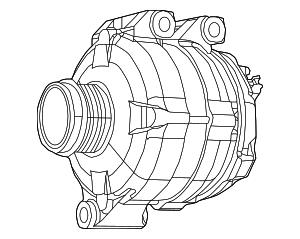 Alternator - Mopar (4801779AI)