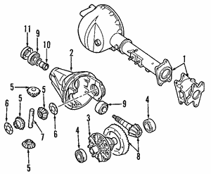 Case Assembly Front Axle