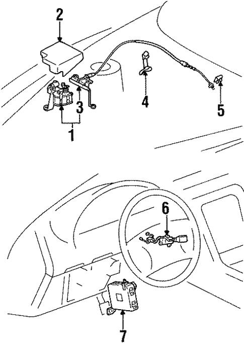 cruise control for 1997 lexus sc300 #0