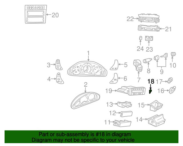 Repeater bulb mercedes benz 072601 012230 mb oem parts for Mercedes benz oem replacement parts