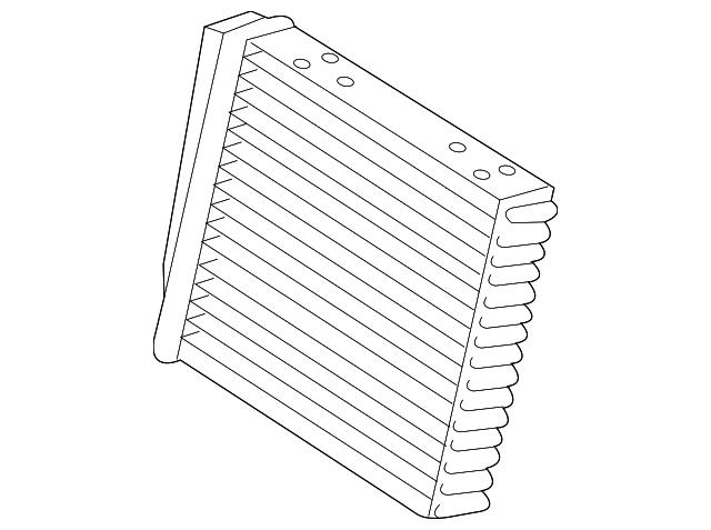 2012 2018 Volkswagen Heater Core 561 819 031 C