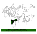Thermostat Assembly (Nippon Thermostat) - Honda (19301-PZA-305)