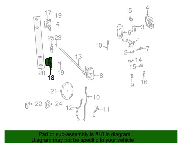 Lower Hinge Mopar 5257974ab Mymoparparts