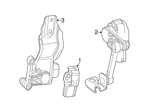Electrical Components For 2016 Mercedes Benz Slk 55 Amg
