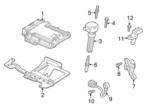 ignition system for 2013 ford taurus oem ford parts. Black Bedroom Furniture Sets. Home Design Ideas