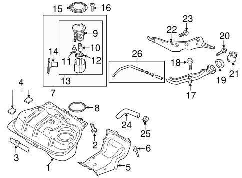 Fuel System Components For 2017 Mazda Mx 5 Miata