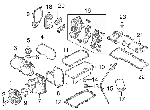 Engine Parts For 2014 Ram Promaster 1500