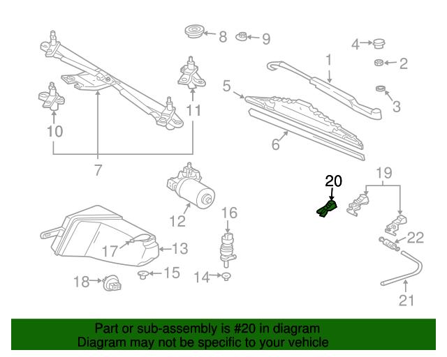 Nozzle mercedes benz 163 860 09 47 shop mb bmw for Mercedes benz parts online store