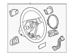 Steering Wheel - Audi (8E0-419-091-EH-TNA)