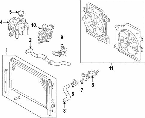 Mazda ZZCA-15-186 Radiator Coolant Hose