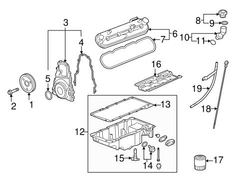 oem 2006 chevrolet impala engine parts parts. Black Bedroom Furniture Sets. Home Design Ideas