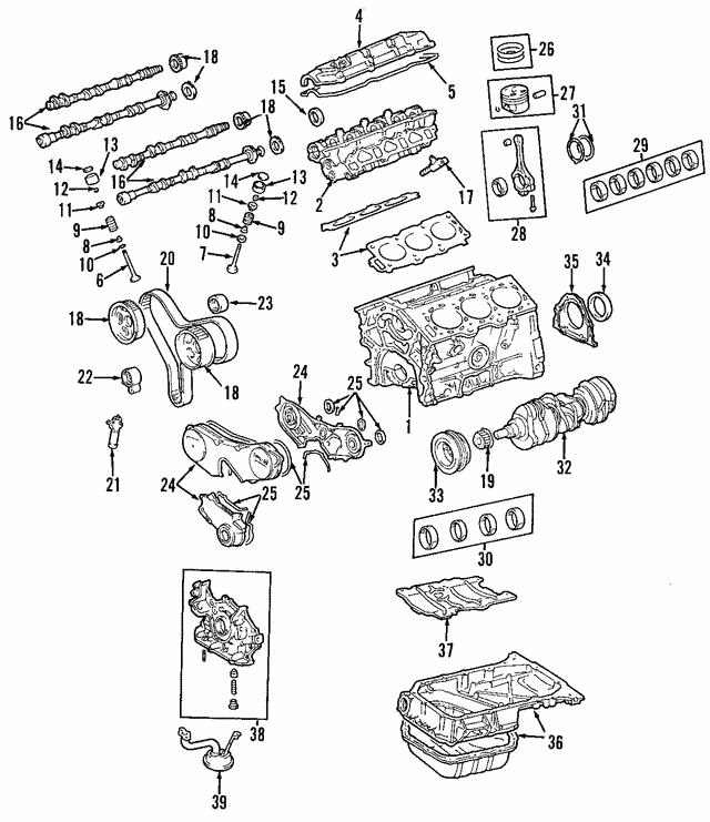 2004-2010 Toyota Camshaft 13054-20030 | Sparks Parts | 2007 Toyota Sienna Engine Diagram Camshaft |  | Sparks Parts