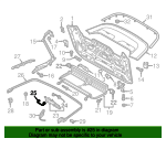 Emergency Handle - Audi (8V7-825-833-A)