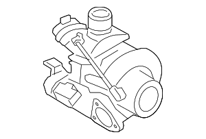 Turbocharger - Porsche (9A2-123-021-03)
