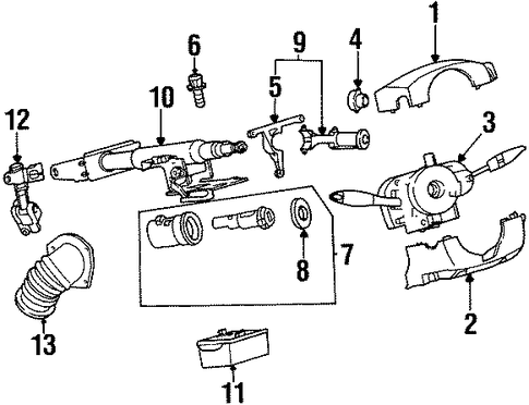 RepairGuideContent in addition Mazda Mpv Engine Codes furthermore 7pvlv Need Diagram High Pressure Line Steering moreover 2003 Saturn Vue Timing Chain Diagram additionally T7364861 Find throttle position sensor saturn. on saturn outlook