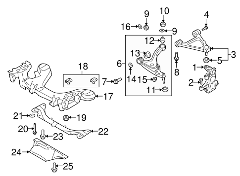 Mazda N123-34-011 Coil Spring