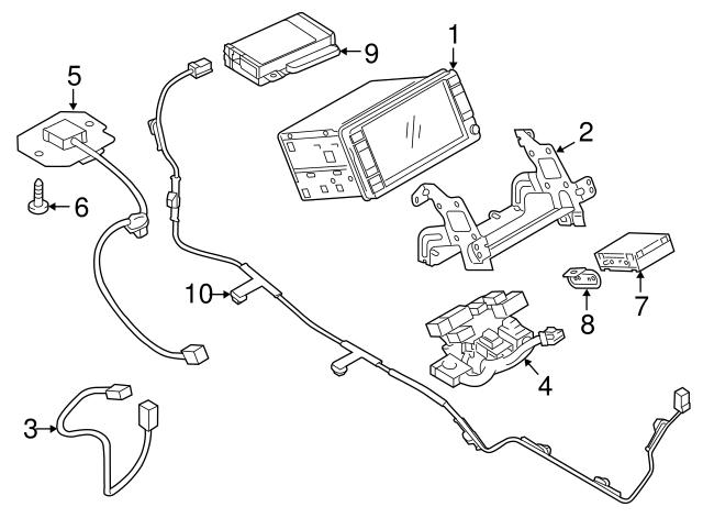 Mitsubishi Control Module 8750a225