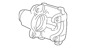 Disc Brake Caliper - BMW (34-21-6-768-423)