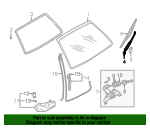 Wiper Arm - Subaru (86532AC290)