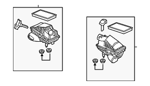 Air Cleaner Assembly - Land-Rover (LR011359)